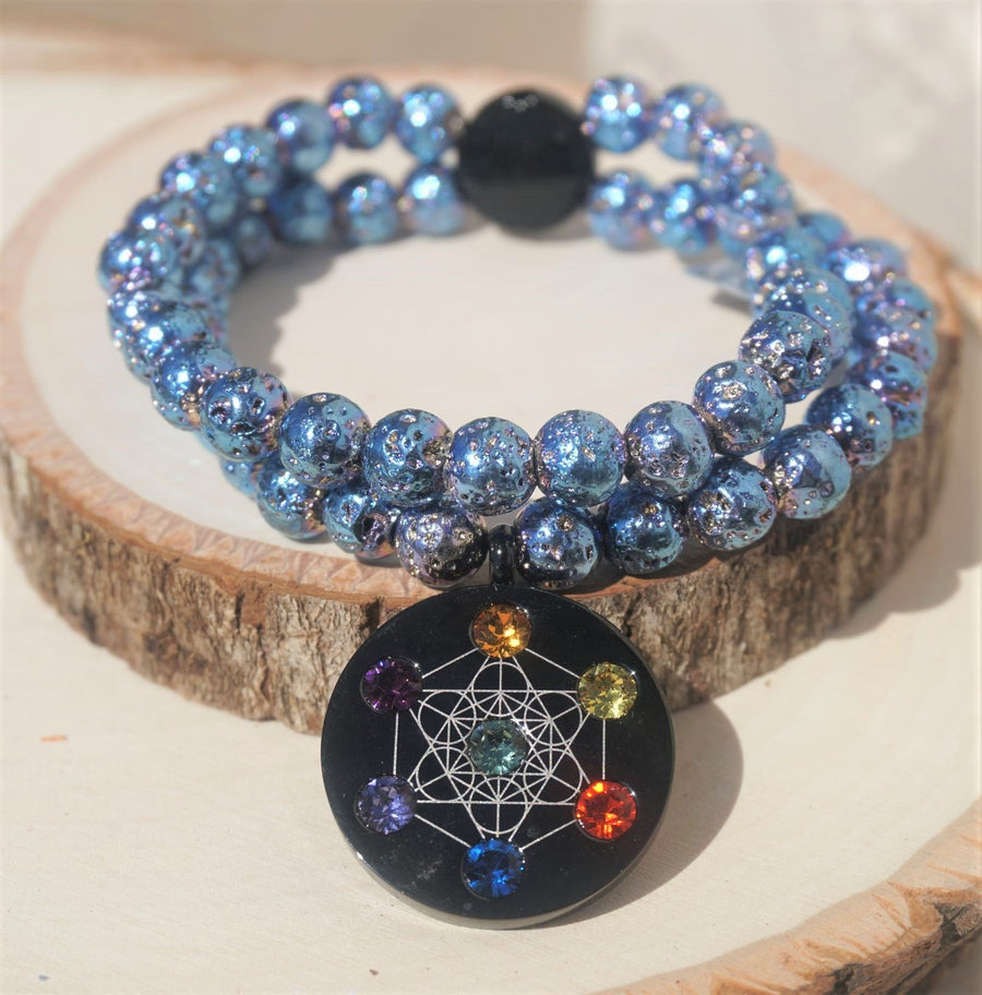 Metatron Blue Bracelet