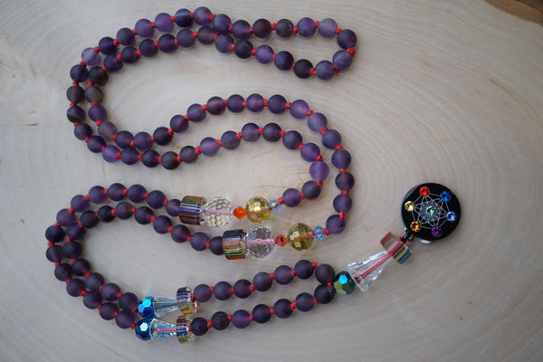 """Intuitive Eye"" Zen Mala Necklace"