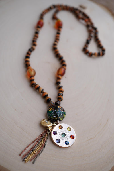 """Remembrance"" Zen Mala Necklace"