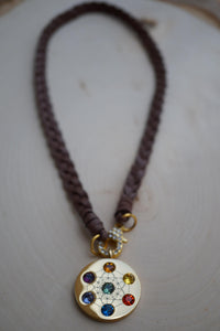 Metatron Highest Angel Leather Necklace