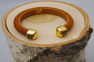Single Cuff Bracelet with Stones- Carmel Brown