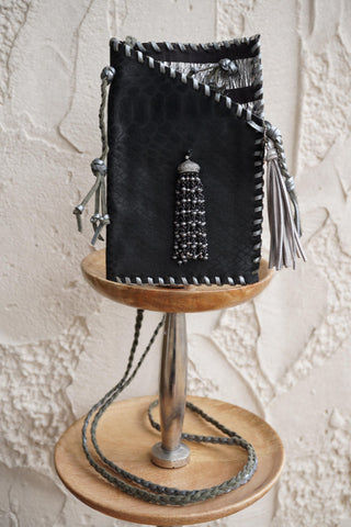 Hyde Me Black Tassel