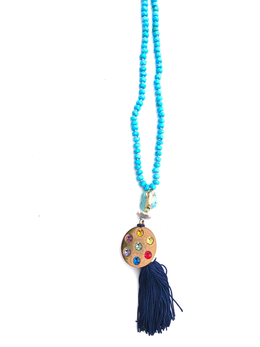 Metatron Turquoise Necklace