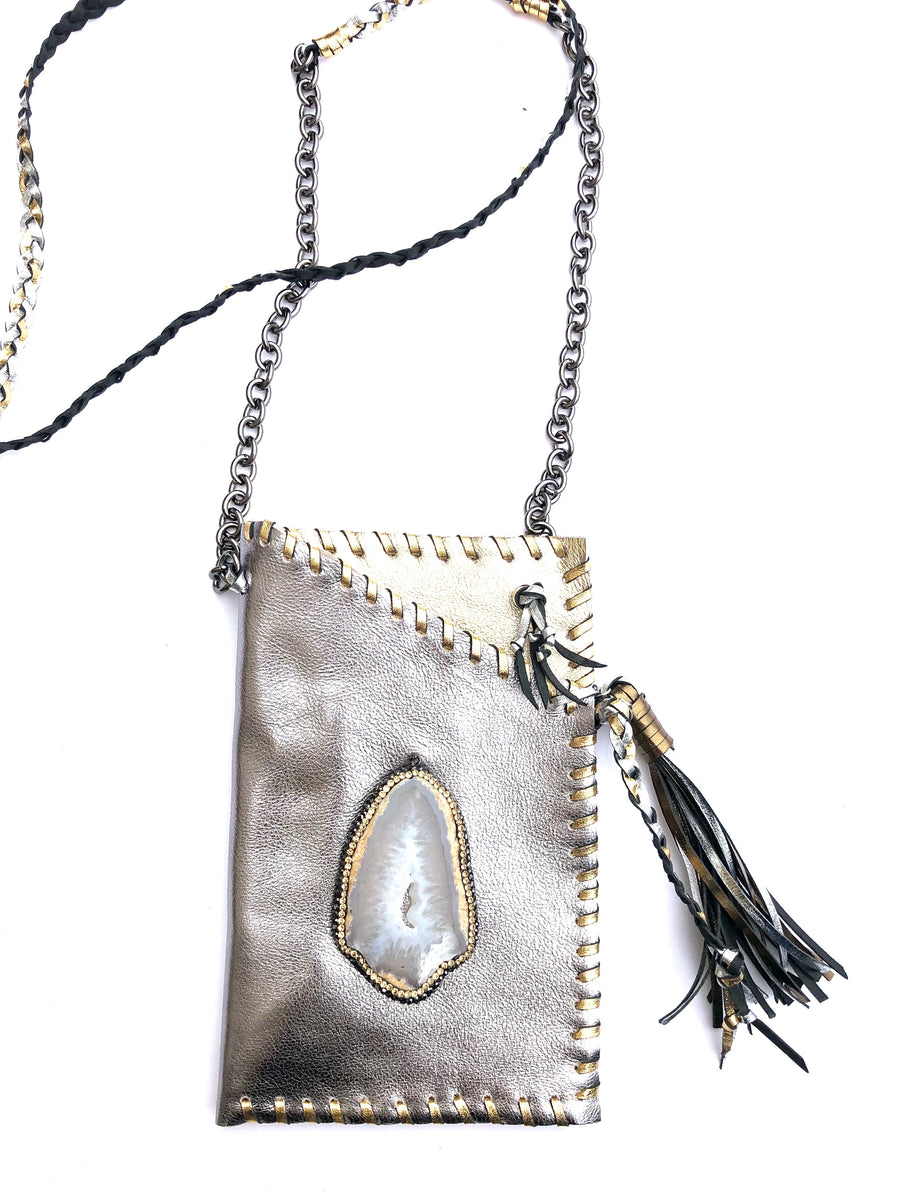 Hyde Me Gold & Silver Bag
