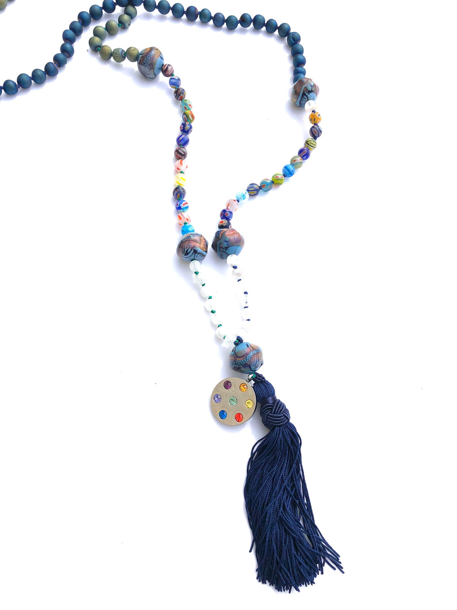 Metatron Tassel Necklace