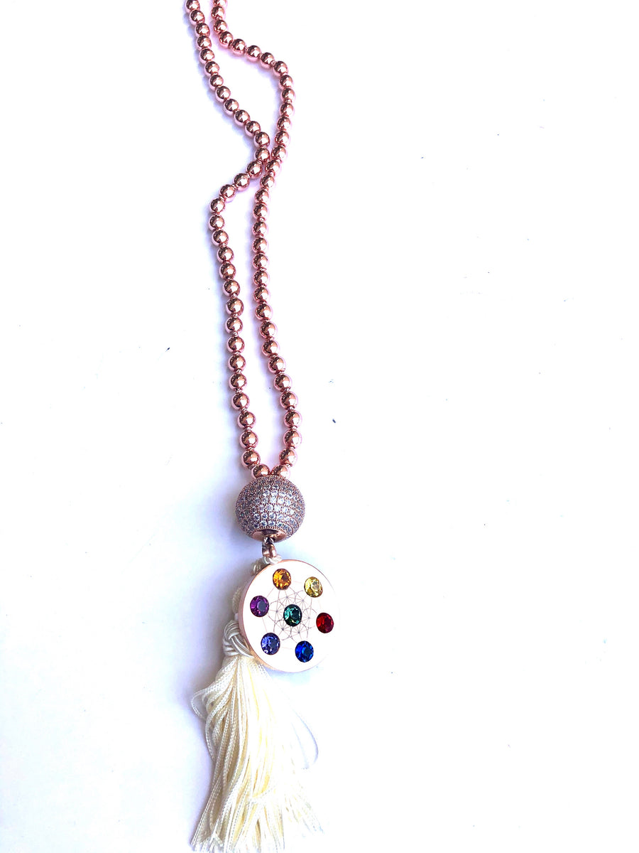 Dipped Metatron Necklace