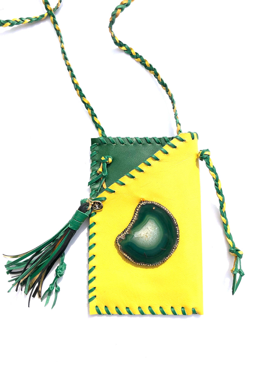 Hyde Me Green Purse