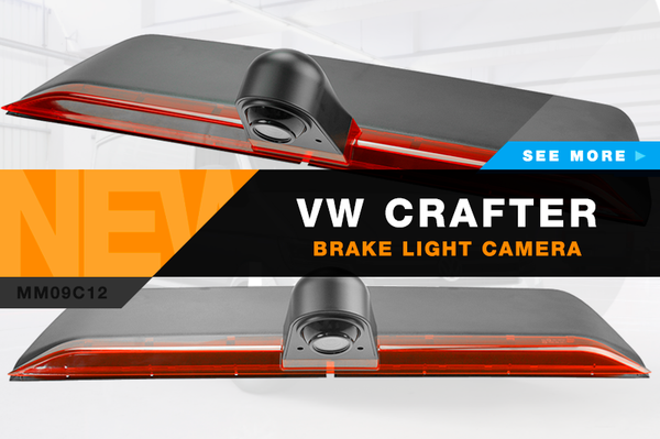 VW Crafter Brake Light Camera from Motormax
