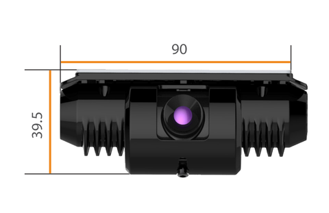 Forward Facing Recording Camera