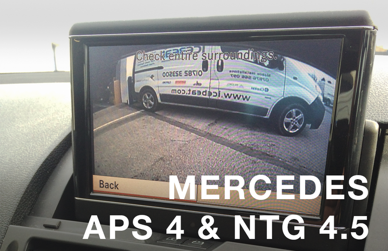 Mercedes APS NTG 4 & Online NTG 4.5 Camera Integration Kit - Motormax