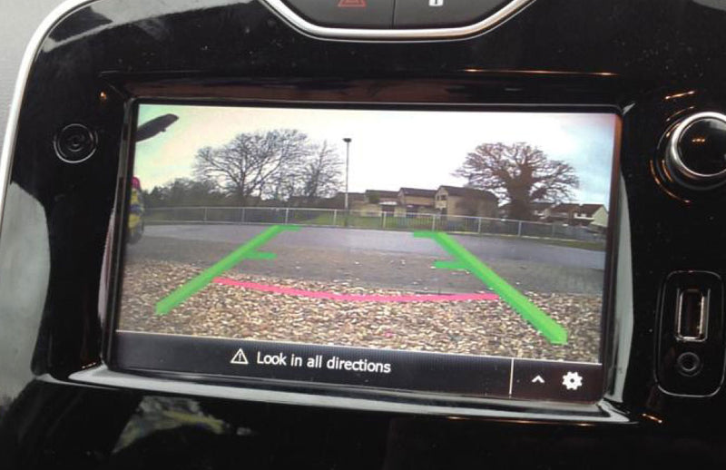 Renault & Dacia Media Nav Camera Integration Kit