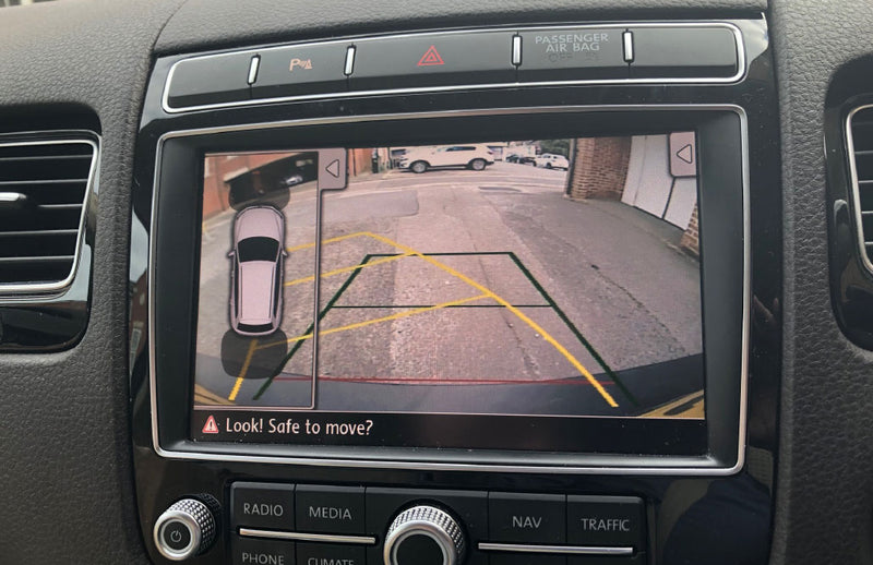 Volkswagen RGB RNS850 Touareg Camera Integration Kit