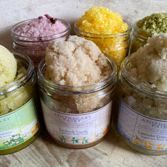 Body Scrubs, Teas and Salt Baths