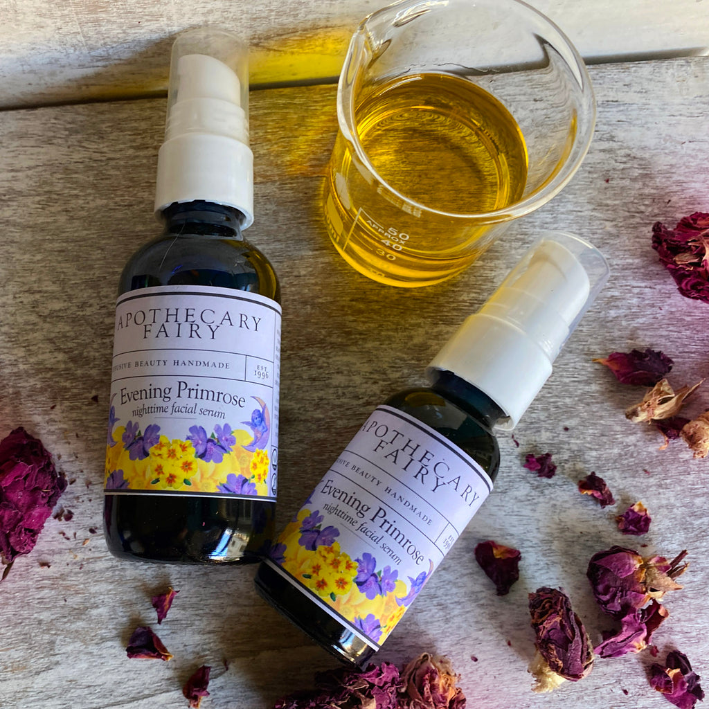 Evening Primrose Nighttime Facial Serum 2oz - The Apothecary Fairy
