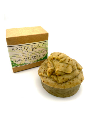 Eucalyptus Tea Tree Lather Bar 5oz - The Apothecary Fairy