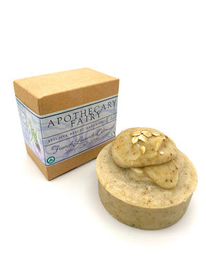 French Lavender Oatmeal Lather Bar 5oz - The Apothecary Fairy