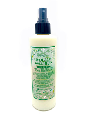 Cleanliness Is Next To Dogliness- Skeeter'd Canine Mosquito Repellent 8oz - The Apothecary Fairy