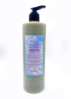 Cleanliness Is Next To Dogliness- Fleabagg'ed Liquid Sham'pooch 16oz