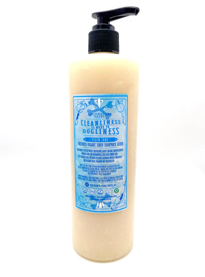Cleanliness Is Next To Dogliness- Plain Jane Liquid Sham'pooch 16oz - The Apothecary Fairy