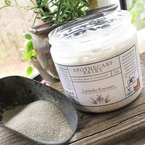Pumice Lotion Scrub - The Apothecary Fairy