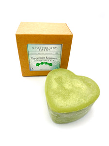 Peppermint Rosemary Conditioner Bar 3oz heart