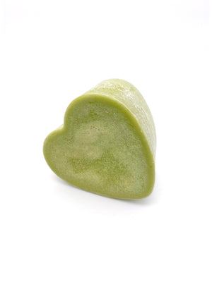 Peppermint Rosemary Conditioner Bar 3oz heart - The Apothecary Fairy