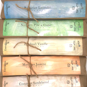Handmade Charcoal Incense Assortment Pack - 375+ Sticks - The Apothecary Fairy