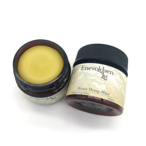 Honey Hemp Mint Lip Salve 1oz - The Apothecary Fairy