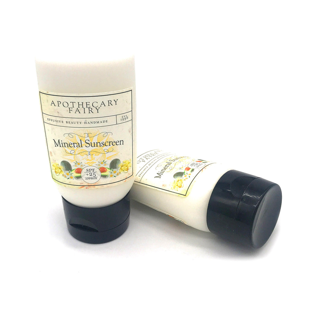 Mineral Sunscreen- Unscented 2oz - The Apothecary Fairy
