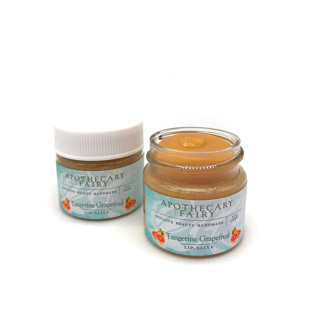 Tangerine Grapefruit Hydrating Lip Salve 1/2oz - The Apothecary Fairy