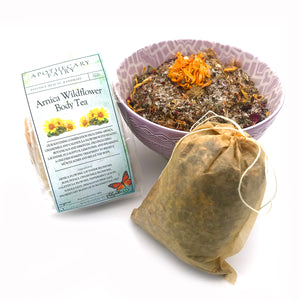 Arnica Wildflower Body Tea - The Apothecary Fairy