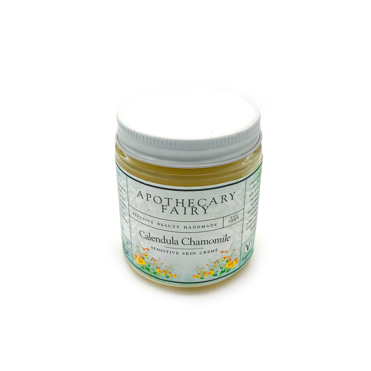 Calendula Chamomile Sensitive Skin Creme - The Apothecary Fairy