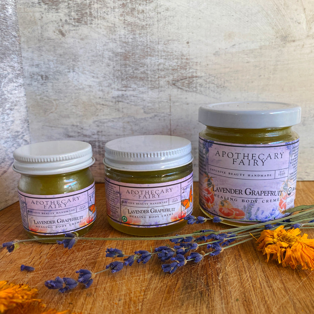 Lavender Grapefruit Healing Body Creme - The Apothecary Fairy