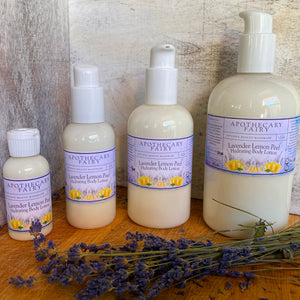 Lavender Lemon Peel Hydrating Body Lotion - The Apothecary Fairy