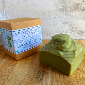Peppermint Rosemary Shampoo Bar - The Apothecary Fairy