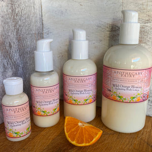 Wild Orange Blossom Hydrating Body Lotion - The Apothecary Fairy