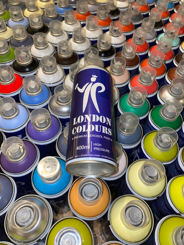 LONDON COLOURS  FREIGHT PACKS 400ml MIXED COLOURS