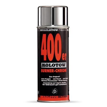 Molotow Action Line Burner Chrome 400ml