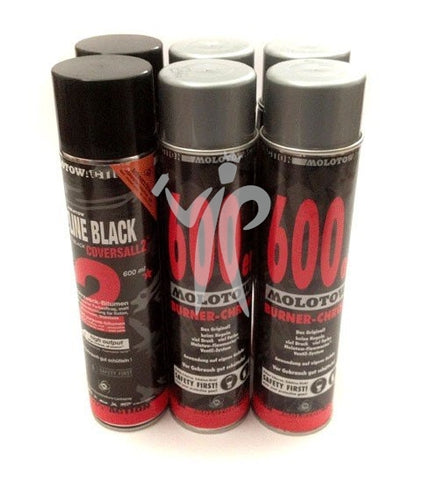 V.I.P Molotow Burner  Multi Pack 6x600ml