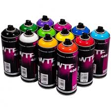 WTF 12 cans  nbq bulk pack 400ml-CANS limited colours must colours out stock