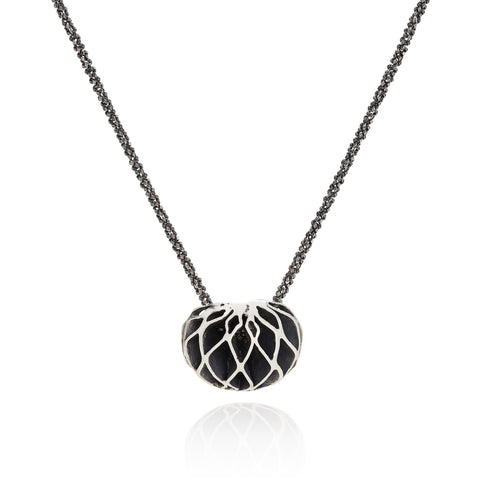 Casbah oxidised Dome Necklace