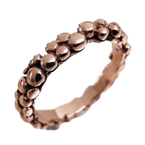 Mini 9ct Gold Bubble Ring