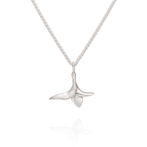 'Lylla' Medium Charm Necklace in Sterling Silver