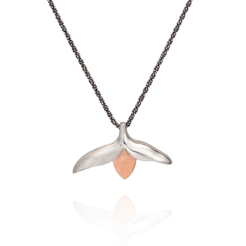 Rose Gold Bud Necklace
