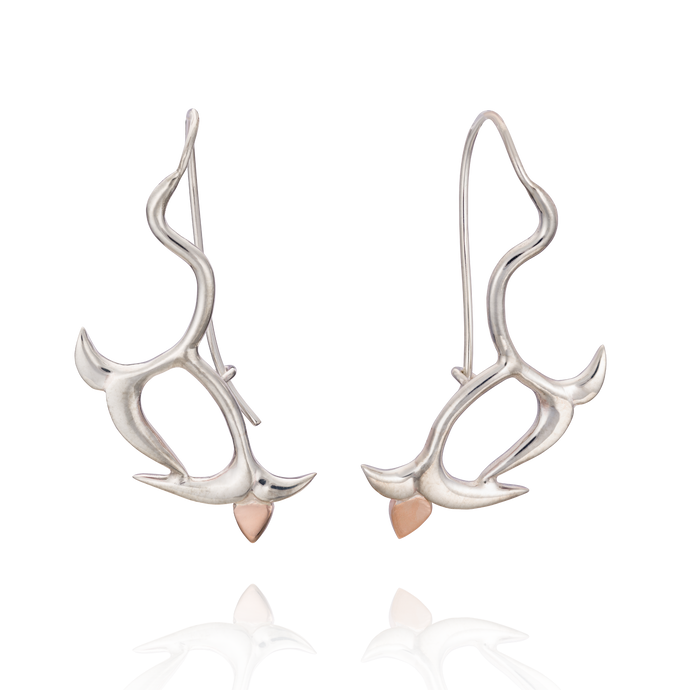 'Lylla' Trailing Drop Earrings