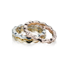 Load image into Gallery viewer, Affinity Liquid Wave Stacking Ring