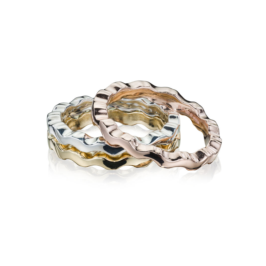 Affinity Liquid Wave Stacking Ring