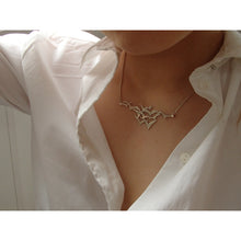 Load image into Gallery viewer, Silver Seabird Necklace