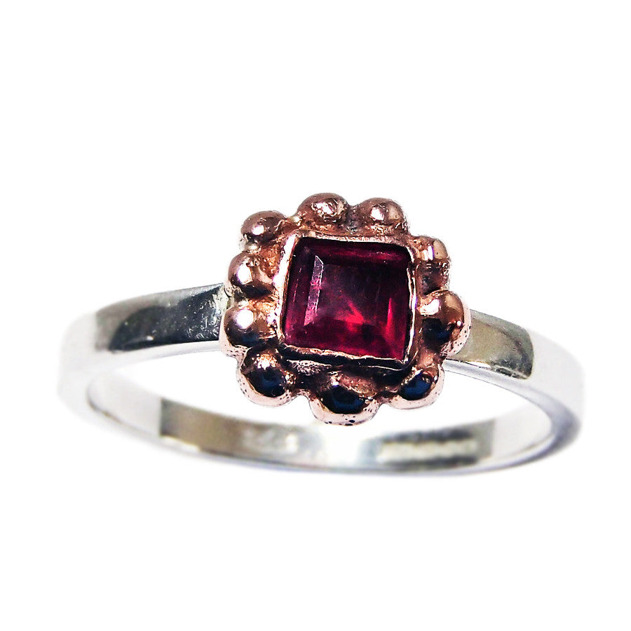 Bubble Ruby Ring