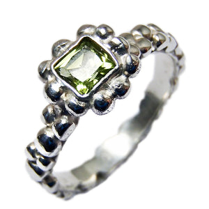 Birthstone Bubble Ring